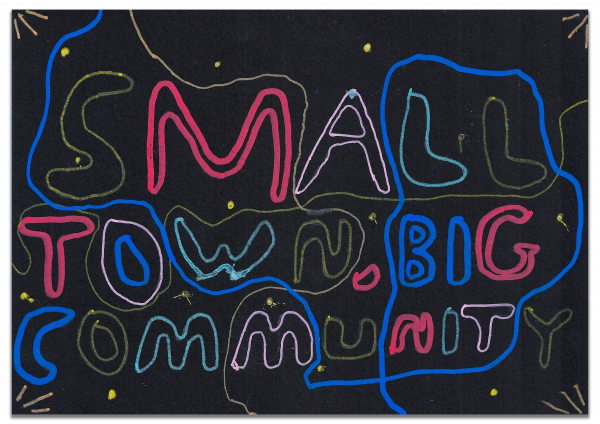 St Mary's Primary School Billboard design, Digital Postcards