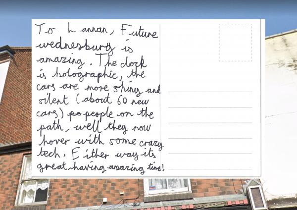 St Mary's Primary School Future High Street postcards, Digital Postcards