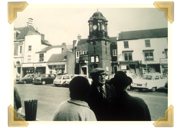 After the compulsory purchase of the Russell St shop, the Roberts family occupied a temporary shop before being offered anew premises in Market Place