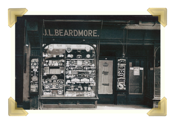 Joseph Leslie Beadmore Jewellers, Upper High Street (courtesy of Ian Bott)