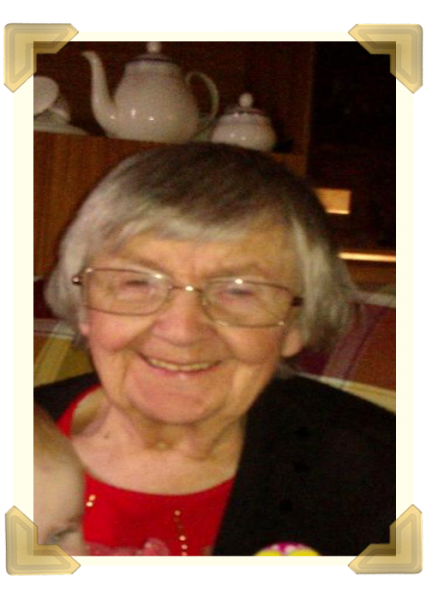 Mary Roberts on her 90th birthday. She passed away aged 92, in July 2017. Loved by all and missed every day