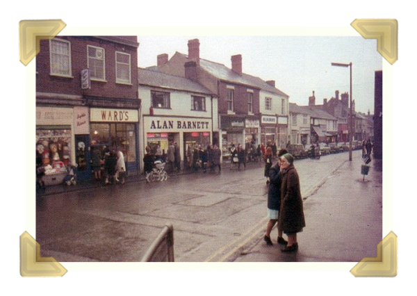 Union Street, looking from The George (courtesy of Teresa Davies)