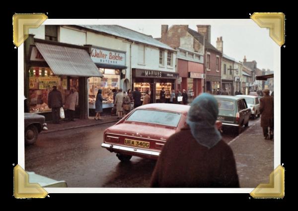 Union Street towards High Bullen, 1970s (courtesy of Teresa Davies)