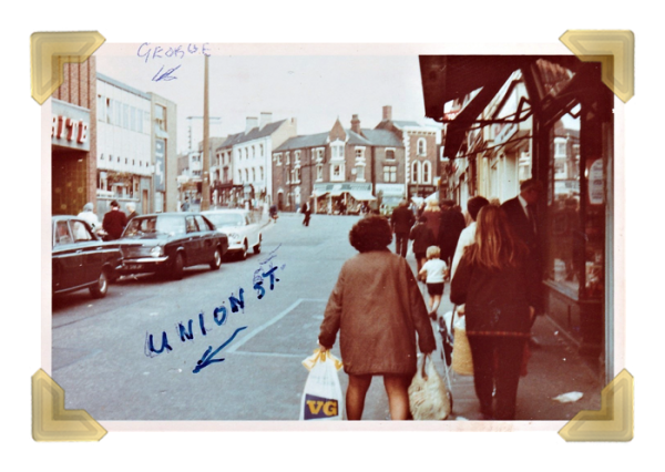 Union Street towards High Street, 1970s (courtesy of Teresa Davies)