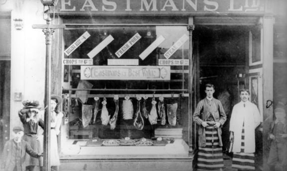 MK2 Eastmans Butchers c.1912 (West Lothian shop)