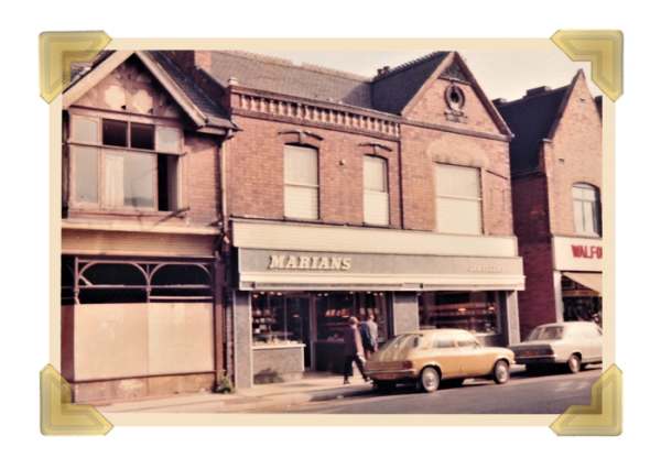 Marian's, 38-40 Union Street shop 1976