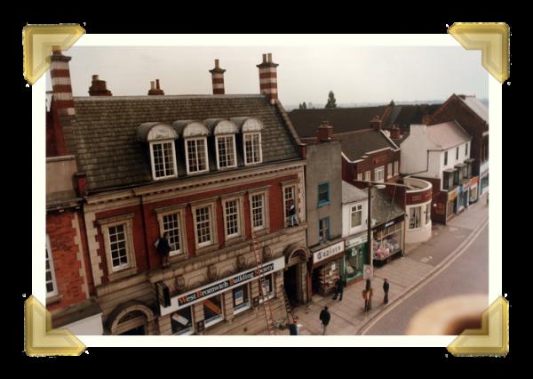 Wednesbury Market Place (courtesy of Ian Bott)