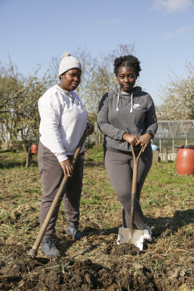 Isaia, Christabelle Bunza, Barlow Road Allotments, 2021 © Denise Maxwell