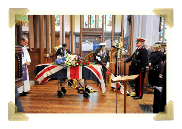 William Archer's Military funeral
