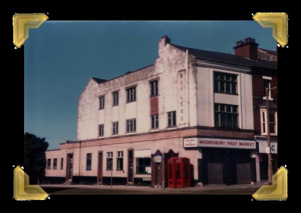 The Old Green Dragon Pub, Market Place, July 1953.(courtesy of Ian Bott)