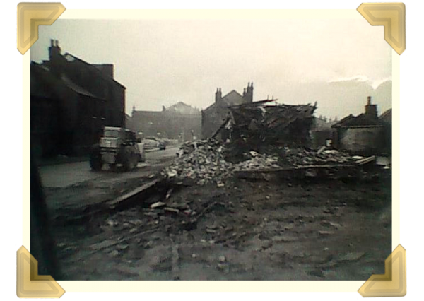 The demolition of Russell Street