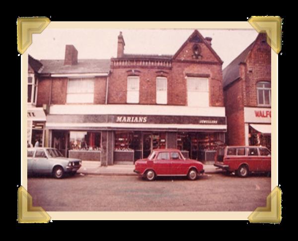 Marian's, 39-40 Union Street shop 1977