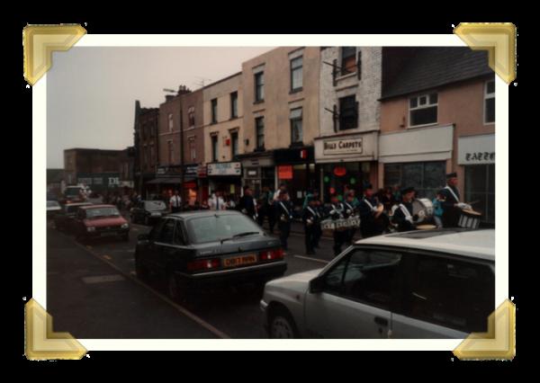Lower High Street, Carnival. 1989. (courtesy of Ian Bott)