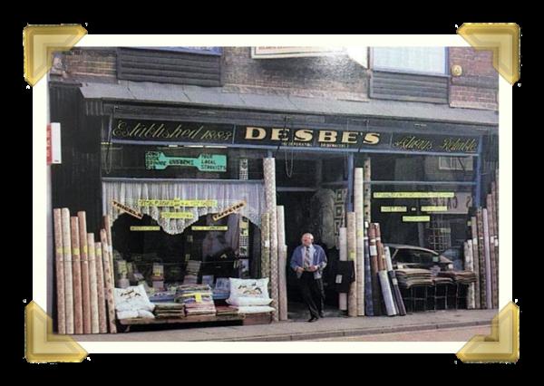 Desbe's, Upper High Street (courtesy of Teresa Davies)