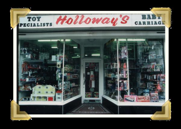 Holloway's Toy Specialists (courtesy of Ian Bott)