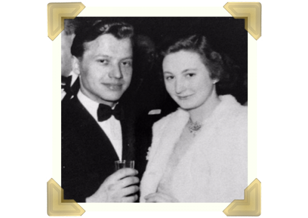Marian Maczka with Jean Nicholls 1955