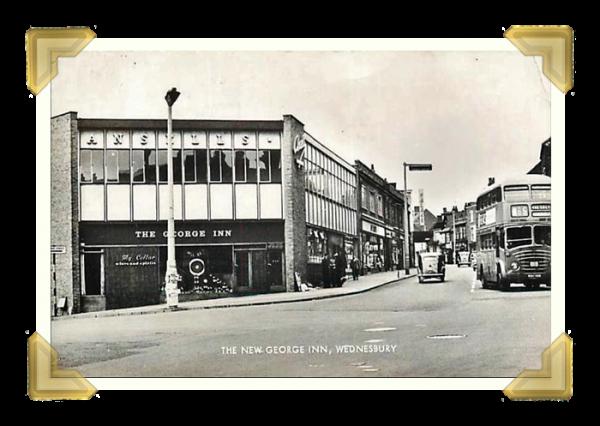 The George Inn. 1970s Postcard (courtesy of Teresa Davies)