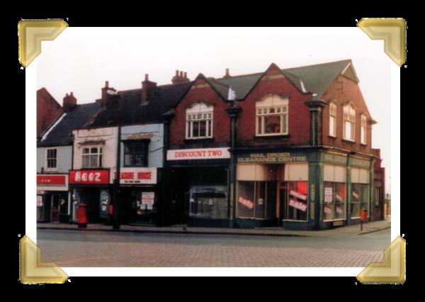 Market Place shops No.1-5. 1986 © Paul Nightingale (courtesy of Ian Bott)