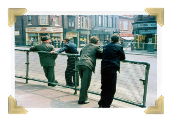Market Place (Boots Magnets Burtons Woolworths © Michael Tunnicliffe 1965 (courtesy of Ian Bott)