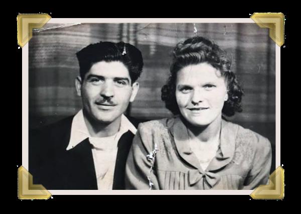 Toni Amorosa and wife Gladys (courtesy of Teresa Davies)