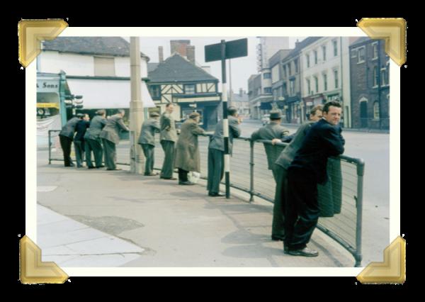 Market Place © Michael Tunnicliffe 1965 (courtesy of Ian Bott)