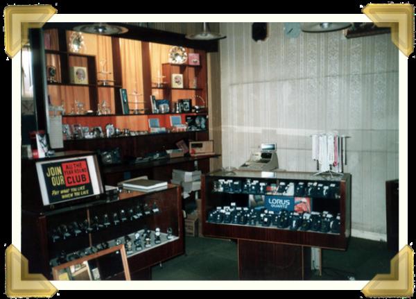 Marian's shop interior