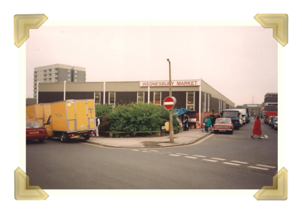 High Sreet, New Market Hall, 1990 (courtesy of Teresa Davies)