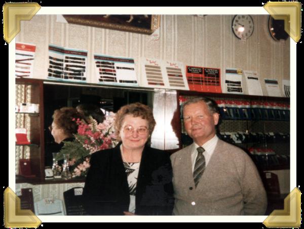 Marian Maczka with wife Jean