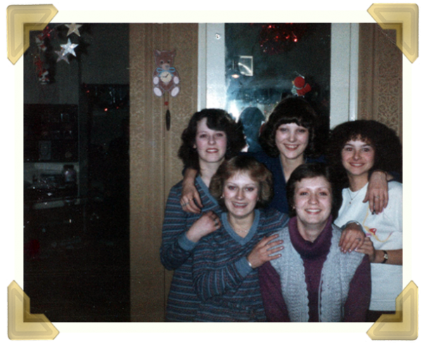 Staff at Marian's Jewellers, Union Street (L-R) Jackie Smith, Carol Banks, Sue Baker, Carol Withers c1986