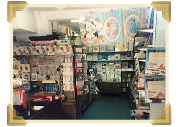 H L Roberts became an Aladdin's cave of stationery and greeting cards