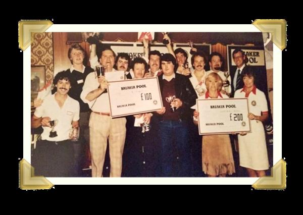 The Golden Cross Pool Team (Courtesy of Wayne Trinder)