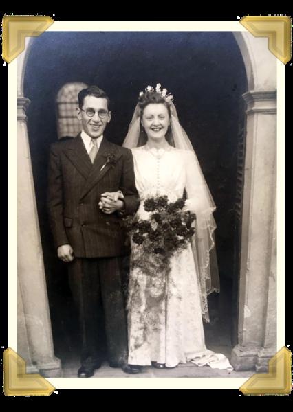 Henry Leonard Roberts married Mary Hackett in March 1948