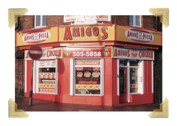 Amigos Pizza, 14 Market Place, Wednesbury