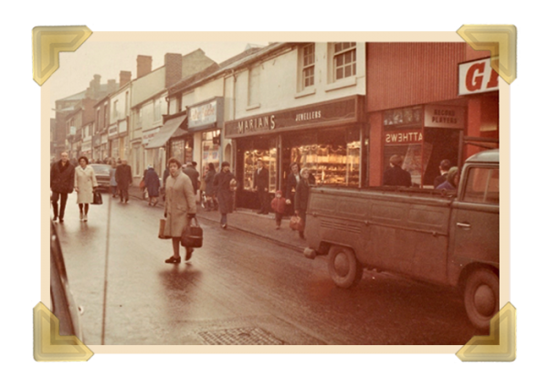 Marian's, 15-16 Union Street shop 1969