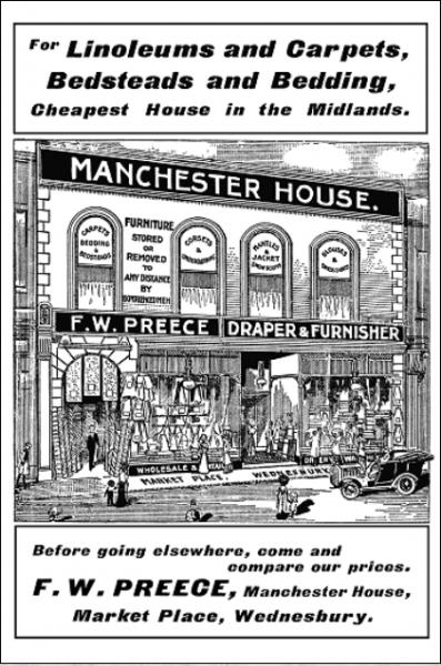 MK8 Frank W Preece Draper (advert)