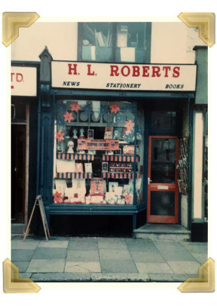 HL Roberts was a popular shop on the high street