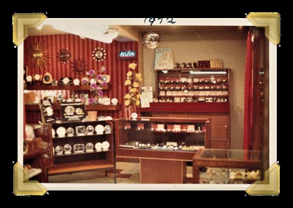 Marian's, 16 Union Street shop interior 1972