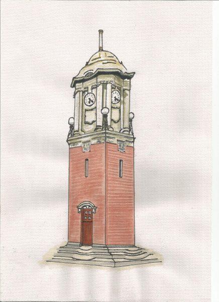 Clock Tower, Wednesbury © David Wheately