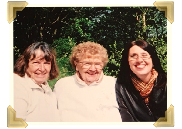 Mary was a very strong person to carry on and make everything work out. She ran the newsagents until she retired aged 65, with Elaine and Pat becoming partners with her to keep the family business going. Pat, Mom, Elaine