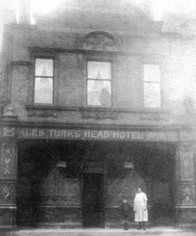 LS2 Turk's Head Hotel B&W