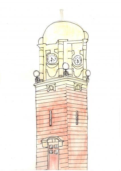 The Clock Tower, Wednesbury © Chrystal Shaw