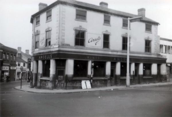 US5 The George Inn demolished, 1959