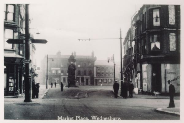 WMT11 Wednesbury Market Town c1920
