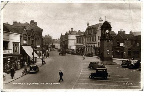 WMT12 Wednesbury Market Town c1930