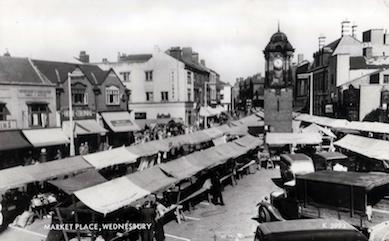 WMT16 Wednesbury Market Town c1930