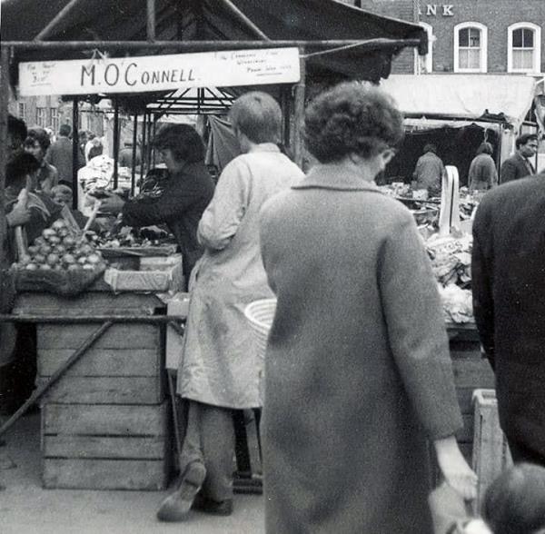 WMT 19 Wednesbury Market Town, O'Connells Stall (TD)