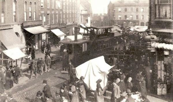 WMT2 Wednesbury Market Town c1890