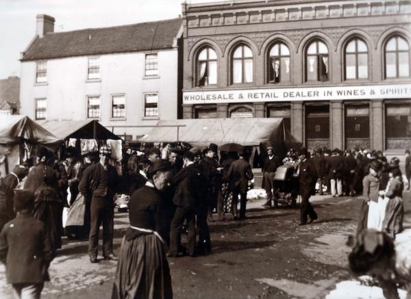 WMT3 Wednesbury Market Town c1890
