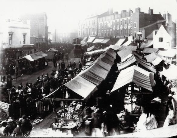 WMT4 Wednesbury Market Town c1892