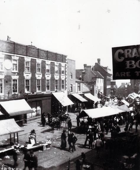 WMT5 Wednesbury Market Town c1892